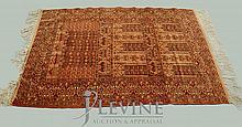 Afghan Wool on Wool Prayer Rug
