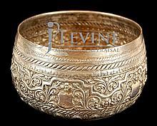 Burmese Silver Bowl