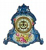 Royal Bonn La Normandia Porcelain Shelf Clock