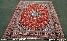 Large Room Size Persian Kashan Rug