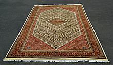 Hand Woven Indian Nizam Wool Rug