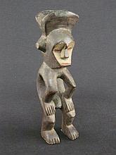 M'Bole Carved Wood Male Figure African Sculpture