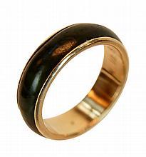 14K Gold & Jade Band Ring