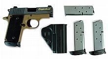 Sig Sauer Pistol, P238, 380 Auto, Copperhead