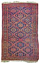 1930's Hand Knotted Caucasian Soumak Rug #2