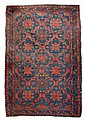 1930's Hand Knotted Caucasian Soumak Rug #1