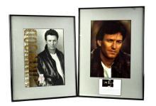 2 Pc Framed Steve Winwood Photo Lot