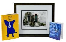 3 Pc. Rodrigue Blue Dog Book & Signed Photo Lot
