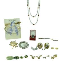 12K Gold Fill MOP 25 Pc. Costume Jewelry Lot