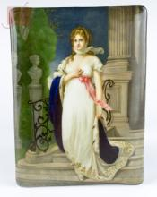 KPM Queen Of Prussia Painted Porcelain Plaque