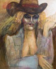 Marlene Garbo Linderman (20th/21st C.) Painting
