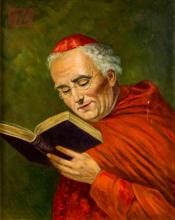 Cardinal Oil Painting