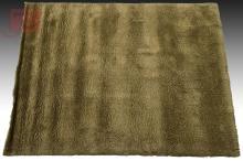Olive Green Wool Rug