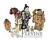 (6) Pcs. Ceramic Banko Asian Pottery Figure Lot