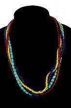 (4) Pcs. Antique Trade Bead Lot