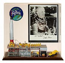 John Glenn Homage Model w/ Autograph