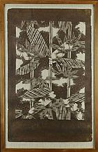 Rare Antique Asian Paper Cut