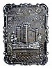 Victorian Silver Card Case, Battle Abby, Sussex
