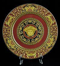 Versace Medusa Porcelain Charger