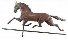 19th C. Ethan Allen Trotting Horse Weathervane