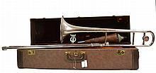 Vintage Olds Studio Model Trombone w/ Case