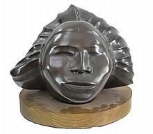 Frank McGuire (1938 - ) Ltd. Ed. Bronze Woman Bust