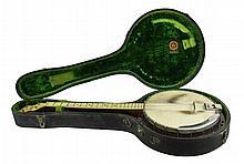 Vintage Apollo Professional Banjo w/ Case