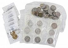 U.S. Coins: 11 Walking Liberty & 2 Franklin 1/2