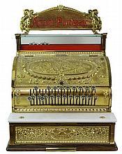 Brass National Cash Register Model 332
