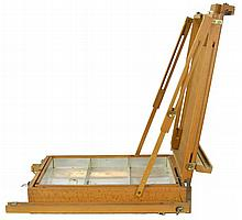 M. Grumbacher French Portable Easel Artist Case