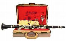 Rosewood LaBlanc Clarinet & Case, Paris, France