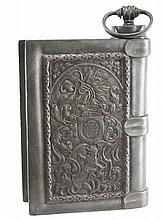 Pewter Book Motif Liquor Decanter