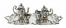Sterling Silver Child's Tea Set w/ Tray