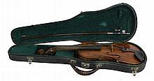 Hopf Violin, German Bow & Case