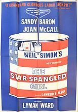 Neil Simon's Star Spangled Girl Theatre Poster Lot