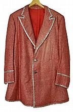 Liberace Original Red and Silver Jacket
