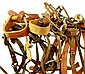 Leather Horse Tack & Stirrups, Etc.