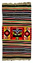 South American Style Rug w/ Center Figure.