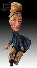 19th C. Wooden Punch Doll