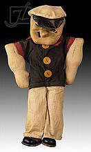 Vintage Popeye Doll