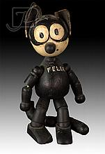 Felix The Cat Jointed Wooden Doll