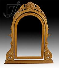 Victorian Carved Wood Mirror