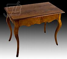 20th C. French Style Cabriole Leg Lamp Table