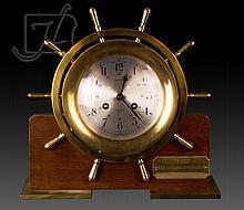 Salem Ships Bell Clock