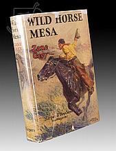 Signed 1st Edition Zane Grey Wild Horse Mesa Book