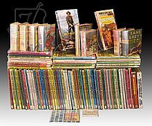 88 Pc. Zane Grey Western Magazine & Book Lot