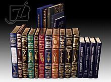 20 Pc. Vintage Zane Grey Leather Bound Book Lot