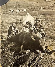 Custer On A Bear Hunt Photographic Print