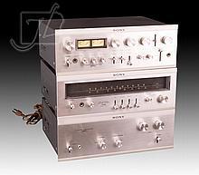 3 Pc. Sony FM-5130 Stereo & Amplifier Lot