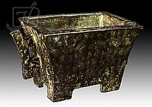 20th C. Signed Chinese Bronze Censer